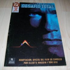 Tebeos: DESAFIO TOTAL. TOTAL RECALL. ARNOLD SCHWARZENEGGER. COMIC ADAPTACIÓN OFICIAL DEL FILM. 1990.. Lote 108105847