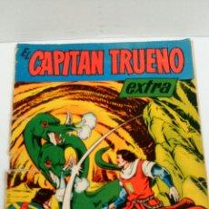 Tebeos: EL CAPITÁN TRUENO EXTRA, NÚMERO DE VACACIONES (1960), ORIGINAL.. Lote 108304692