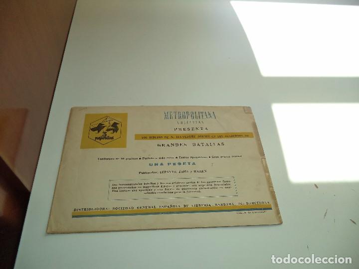 Tebeos: Bailen, el Dos de Mayo, Año 1.943. Nº 3. Original Metropolitana Ediciones Grandes Batallas. - Foto 2 - 109538231