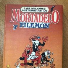 Tebeos: LAS MEJORES HISTORIETAS DE MORTADELO Y FILEMÓN. Lote 110896680