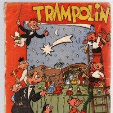 Tebeos: TRAMPOLIN EXTRAORDINARIO DE NAVIDAD. DICIEMBRE 1951. NUMEROS 26 Y 27.. Lote 111107958