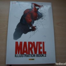 Tebeos: MARVEL - ILLUSTRATION BOOK 2 - TAPA DURA - PANINI. Lote 113853123