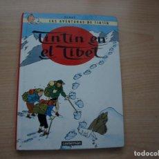 Tebeos: TINTIN EN EL TIBET - AÑO 2001 - TAPA DURA - FORMATO PEQUEÑO - PANINI. Lote 113855179