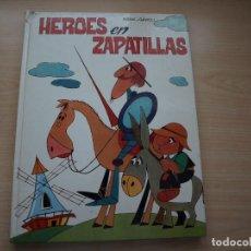 Tebeos: HEROES EN ZAPATILLAS - 4ª EDICION - AÑO 1990 - TAPA DURA - EDICIONES PAULINAS. Lote 114071267