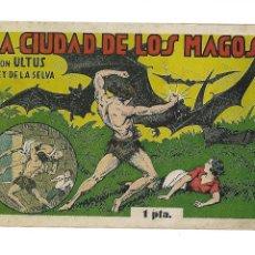 Tebeos: ULTUS REY DE LA SELVA, AÑO 1.944. Nº 14. LA CIUDAD DE LOS MAGOS. ORIGINAL GRAFICAS E. GUERRÍ.. Lote 116339171