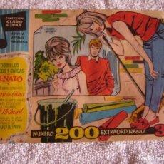 Giornalini: CLARO DE LUNA N° 200, EXTRAORINARIO. Lote 116697891