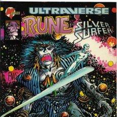 BDs: ULTRAVERSE, RUNE THE SILVER SURFER Nº 6 FORUM -. Lote 119189983