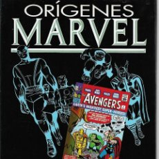 Livros de Banda Desenhada: ORÍGENES MARVEL 4 VENGADORES NUMERO 4. Lote 119193675