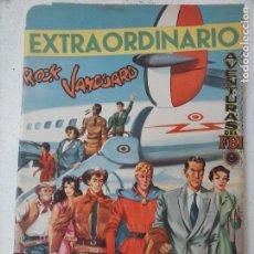Tebeos: EXTRAORDINARIO ROCK VANGUARD,MENDOZA COLT,FBI - CON ROCK VANGUARD A COLOR, ORIGINAL 1955 ROLLAN. Lote 126739355