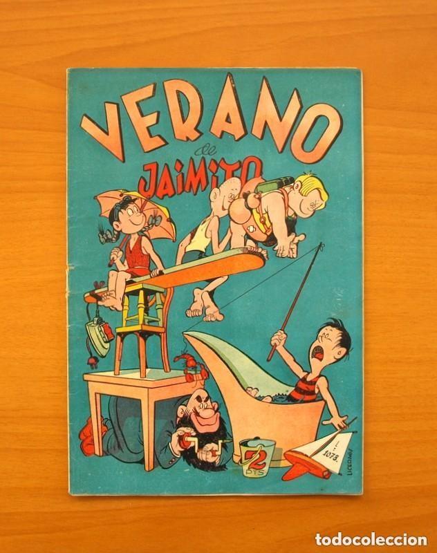 EXTRAORDINARIO DE JAIMITO - VERANO DE JAIMITO - EDITORIAL VALENCIANA (Tebeos y Cómics - Tebeos Extras)