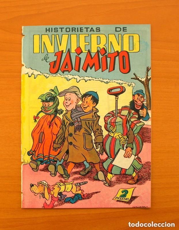 EXTRAORDINARIO DE JAIMITO Nº 18 - HISTORIETAS DE INVIERNO DE JAIMITO - EDITORIAL VALENCIANA (Tebeos y Cómics - Tebeos Extras)