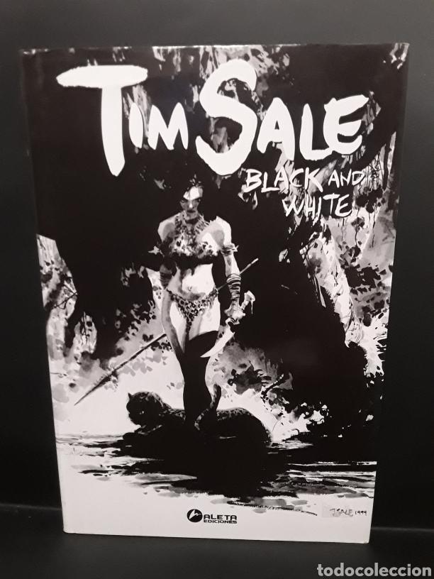 TIM SALE BLACK AND WHITE. ALETA EDICIONES (Tebeos y Cómics - Tebeos Extras)