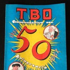Tebeos: TBO CONMEMORATIVO DEL 50 ANIVERSARIO 1917 1967 - NUMERO EXTRA COMIC. Lote 130992684