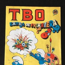 Tebeos: TBO EXTRAORDINARIO DE PRIMAVERA - EXTRA COMIC TBO - PITUFO PITUFOS. Lote 130992944