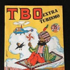 Tebeos: TBO EXTRAORDINARIO TURISMO - EXTRA COMIC TBO. Lote 130992988