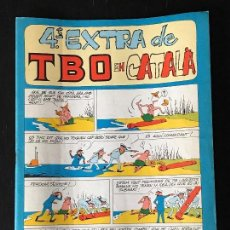 Tebeos: TBO 4º EXTRA DE TBO EN CATALA - EXTRAORDINARIO EN CATALAN - COMIC TBO. Lote 130993356
