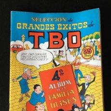 Tebeos: TBO EXTRA SELECCION GRANDES EXITOS DE TBO - COMIC TBO - FAMILIA ULISES. Lote 130993452
