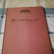 Tebeos: CUANDO EL COMIC ES NOSTALGIA Nº 1 - EMILIO FREIXAS - SALVADOR VAZQUEZ DE PARGA -TOUTAIN EDITOR-1982. Lote 132120886