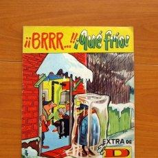 Tebeos: EXTRA DE EL DDT - BRRR... QUE FRIO - EDITORIAL BRUGUERA 1961 - VER FOTOS EN INTERIOR. Lote 132916050