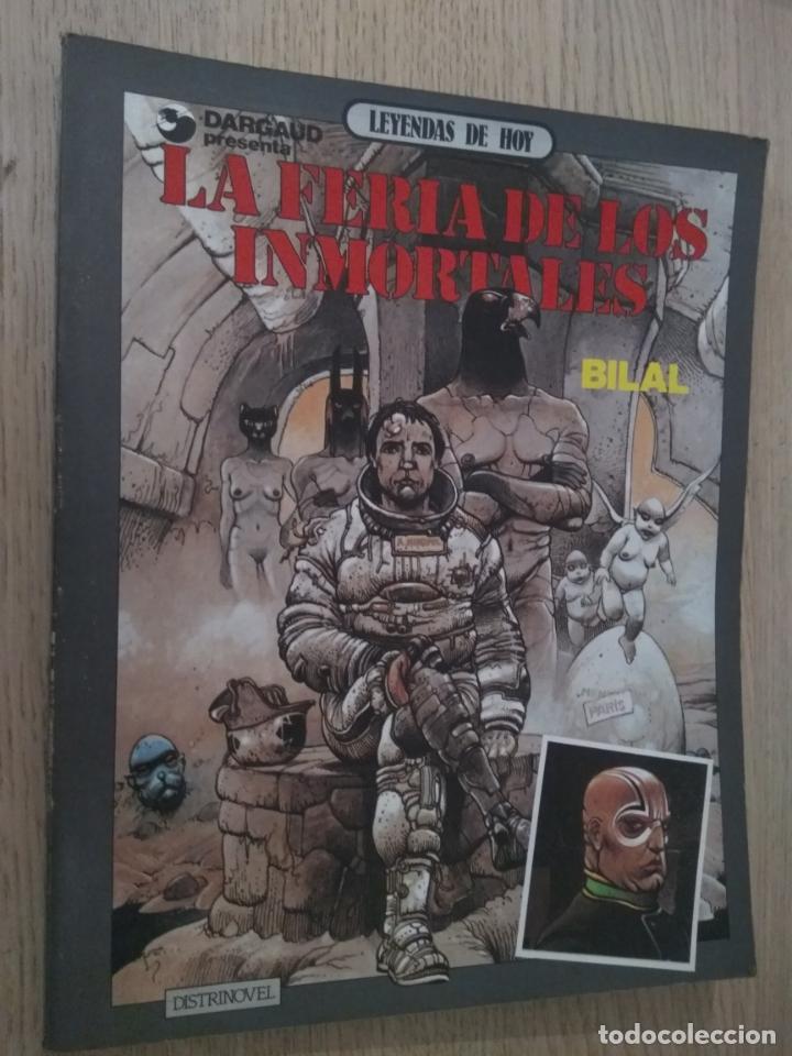 BILAL LA FERIA DE LOS INMORTALES DARGAUD 1983 (Tebeos y Cómics - Tebeos Extras)