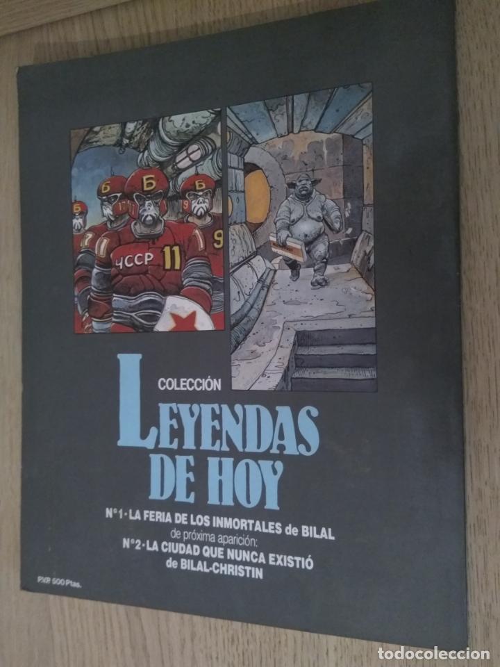 Tebeos: BILAL LA FERIA DE LOS INMORTALES DARGAUD 1983 - Foto 3 - 135415950