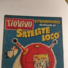Tebeos: TIO VIVO EXTRAORDINARIO. SATELITE LOCO. Nº 86. 1958 BARCELONA. ED.: CRISOL. Lote 136831166