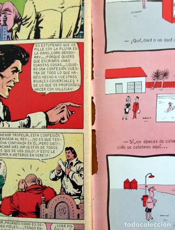 Tebeos: Mortadelo Extra de Verano 1974 - Editorial Bruguera - Contiene Corsario de Hierro, de Ambrós - Foto 11 - 137296602