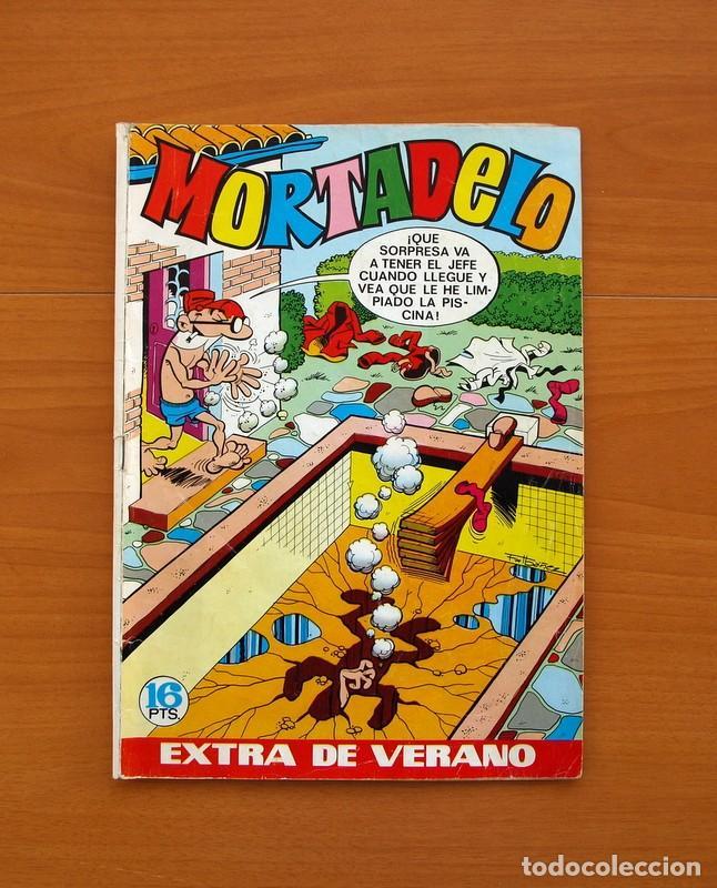 MORTADELO EXTRA DE VERANO 1971 - EDITORIAL BRUGUERA - CONTIENE CORSARIO DE HIERRO, DE AMBRÓS (Tebeos y Cómics - Tebeos Extras)