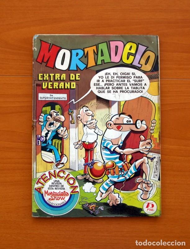 MORTADELO EXTRA DE VERANO 1979 - EDITORIAL BRUGUERA - CONTIENE CORSARIO DE HIERRO, DE AMBRÓS (Tebeos y Cómics - Tebeos Extras)