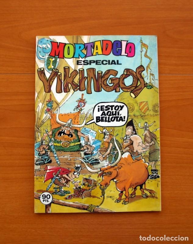 MORTADELO ESPECIAL VIKINGOS, 1981 - EDITORIAL BRUGUERA - CONTIENE CORSARIO DE HIERRO, DE AMBRÓS (Tebeos y Cómics - Tebeos Extras)