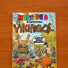 Tebeos: MORTADELO ESPECIAL VIKINGOS, 1981 - EDITORIAL BRUGUERA - CONTIENE CORSARIO DE HIERRO, DE AMBRÓS. Lote 137298138