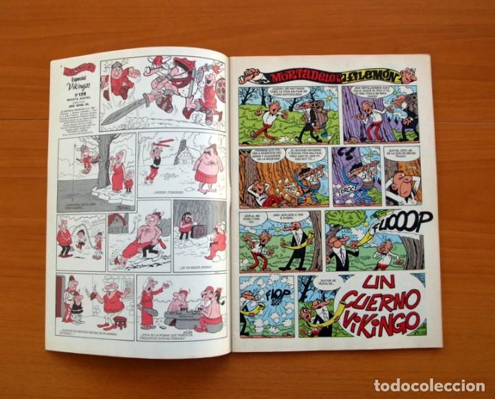 Tebeos: Mortadelo Especial Vikingos, 1981 - Editorial Bruguera - Contiene Corsario de Hierro, de Ambrós - Foto 2 - 137298138
