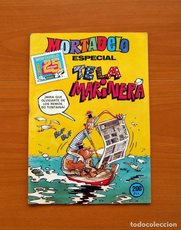 MORTADELO ESPECIAL, TELA MARINERA, Nº 162 - EDITORIAL BRUGUERA 1978 (Tebeos y Cómics - Tebeos Extras)