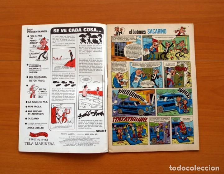 Tebeos: Mortadelo Especial, Tela Marinera, nº 162 - Editorial Bruguera 1978 - Foto 2 - 138015610