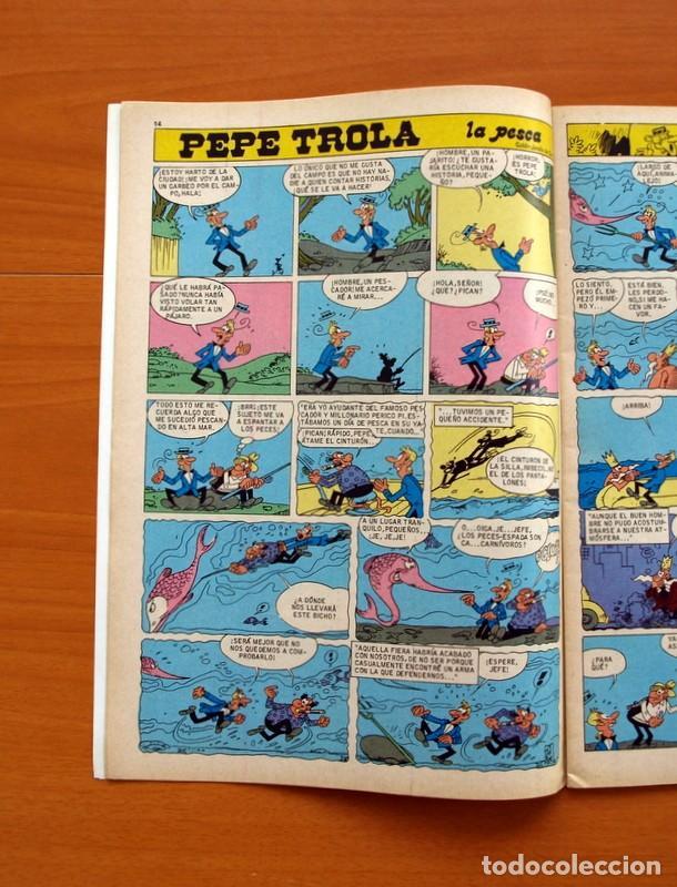 Tebeos: Mortadelo Especial, Tela Marinera, nº 162 - Editorial Bruguera 1978 - Foto 3 - 138015610