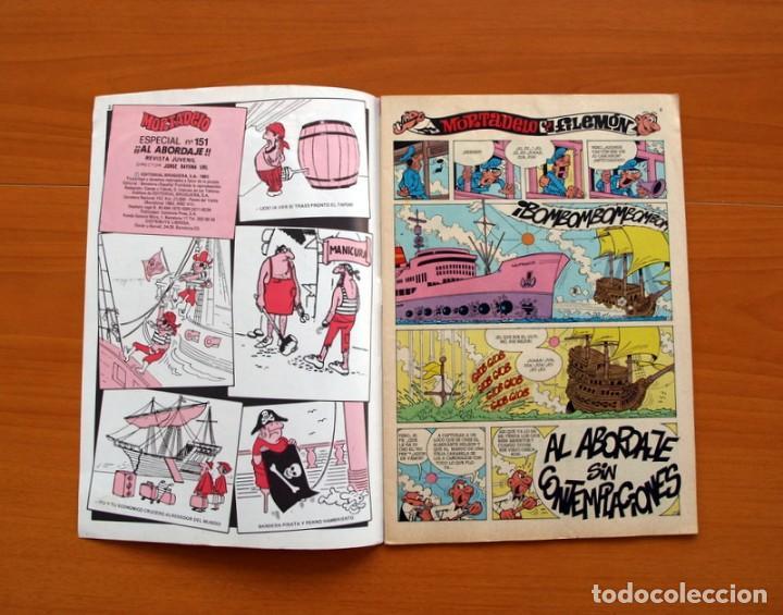 Tebeos: Mortadelo Especial, Al abordajeee, nº 151 - Editorial Bruguera 1978 - Foto 2 - 138016142