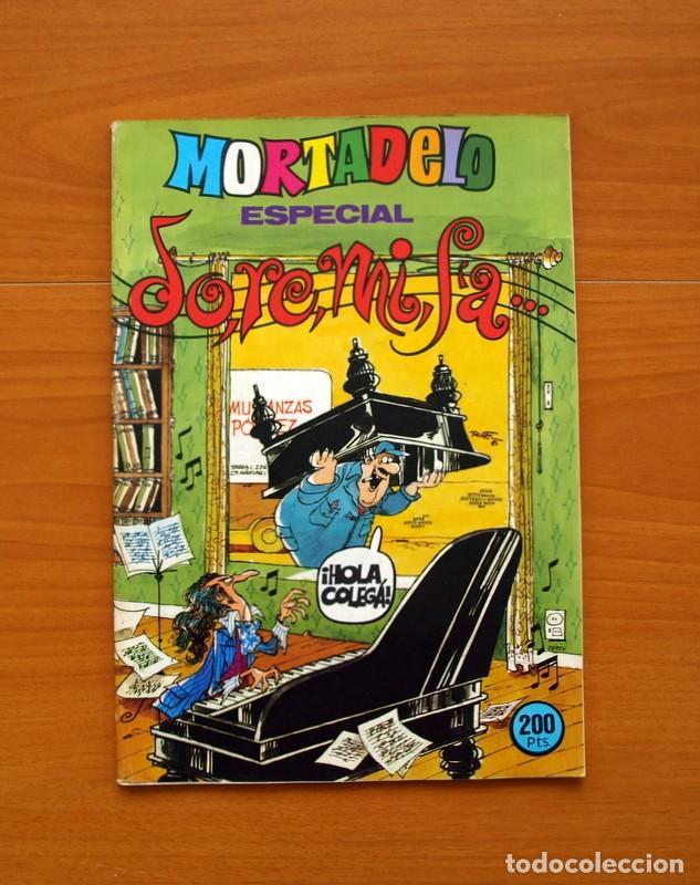 MORTADELO ESPECIAL, DO,RE,MI,FA..., Nº 119 - EDITORIAL BRUGUERA 1978 (Tebeos y Cómics - Tebeos Extras)