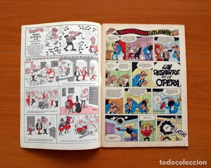Tebeos: Mortadelo Especial, do,re,mi,fa..., nº 119 - Editorial Bruguera 1978 - Foto 2 - 138018298