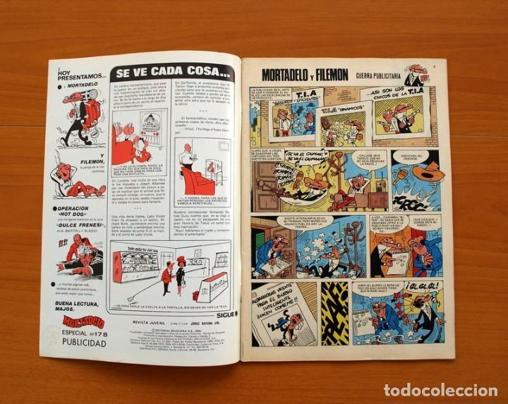 Tebeos: Mortadelo Especial, Publicidad, nº 178 - Editorial Bruguera 1978 - Foto 2 - 138020214