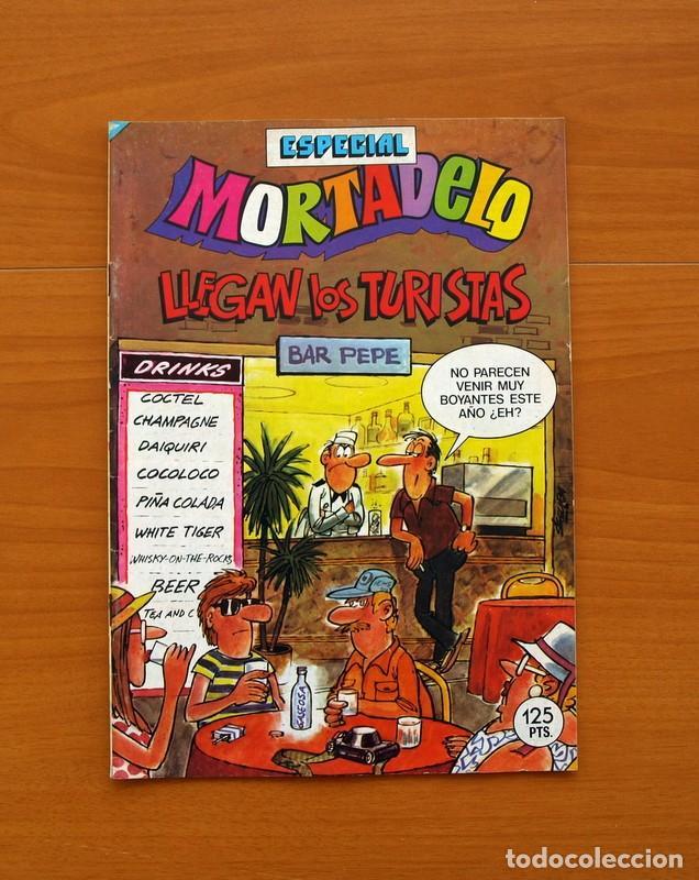 MORTADELO ESPECIAL, LLEGAN LOS TURISTAS, Nº 180 - EDITORIAL BRUGUERA 1978 (Tebeos y Cómics - Tebeos Extras)