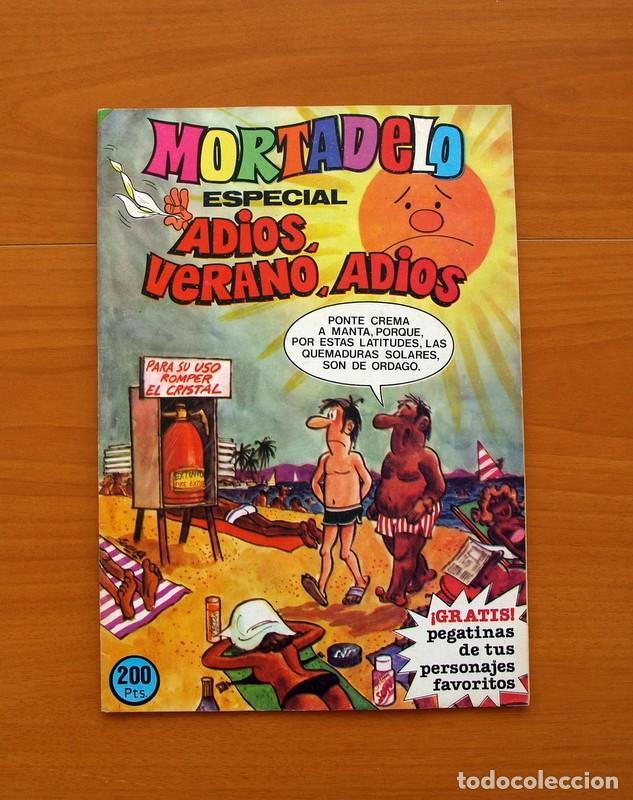 MORTADELO ESPECIAL, ADIOS, VERANO, ADIOS, Nº 182 - EDITORIAL BRUGUERA 1978 (Tebeos y Cómics - Tebeos Extras)