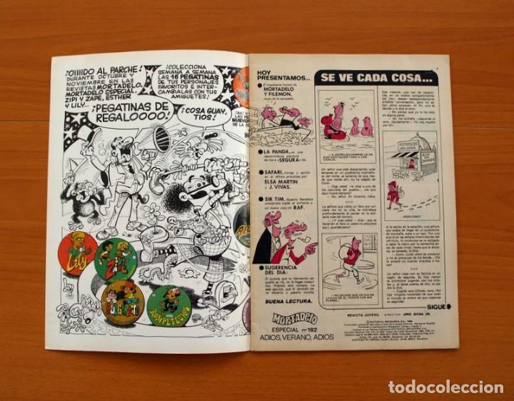 Tebeos: Mortadelo Especial, Adios, verano, adios, nº 182 - Editorial Bruguera 1978 - Foto 2 - 138021734