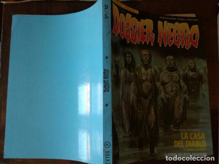DOSSIER NEGRO EXTRA Nº 4 RETAPADO CONTIENE 169-170-171-172-173 NUEVO (Tebeos y Cómics - Tebeos Extras)