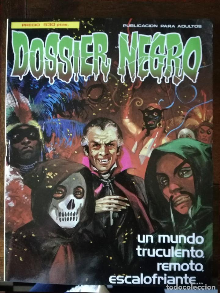 DOSSIER NEGRO 159-160-161-162-163 EXTRA Nº 2 RETAPADO NUEVO (Tebeos y Cómics - Tebeos Extras)