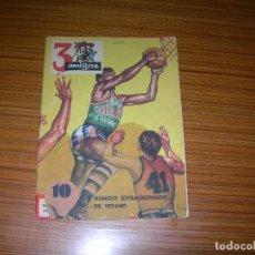Tebeos: 3 AMIGOS EXTRA DE VERANO PARA 1959 Nº 31 - 32 - 33 EDITA P.P.C. Lote 139787810
