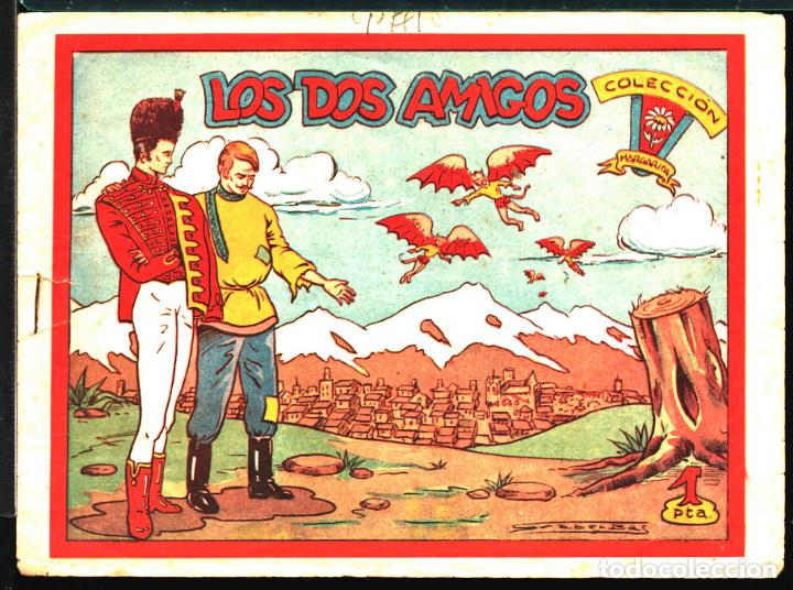 TEBEOS-COMICS CANDY - MARGARITA - 115 - FAVENCIA - LOS DOS AMIGOS - RARO - *UU99 (Tebeos y Cómics - Tebeos Extras)