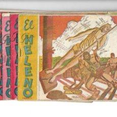 Tebeos: EL GRAN HELENO. AÑO 1962. COLECCIÓN COMPLETA SON 7. TEBEOS ORIGINALES EDITORIAL JOSOMA.. Lote 142946954
