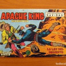 Tebeos: APACHE KING - Nº 23, LA LEY DEL DESIERTO - EXTRAORDINARIO DE NAVIDAD - EDITORIAL VALENCIANA. Lote 146412674