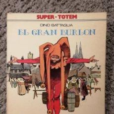 Tebeos: CÓMIC EL GRAN BURLÓN. DINO BATTAGLIA (1979). Lote 147238853