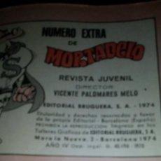 Tebeos: SUPERMORTADELO DE 1974. Lote 154438262